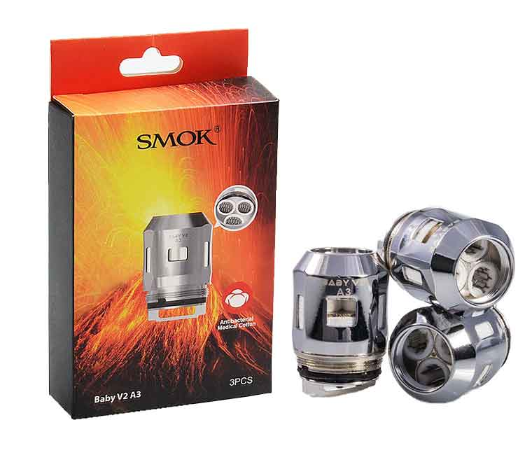 Smok Baby V2 A3 Replacement Coil Heads