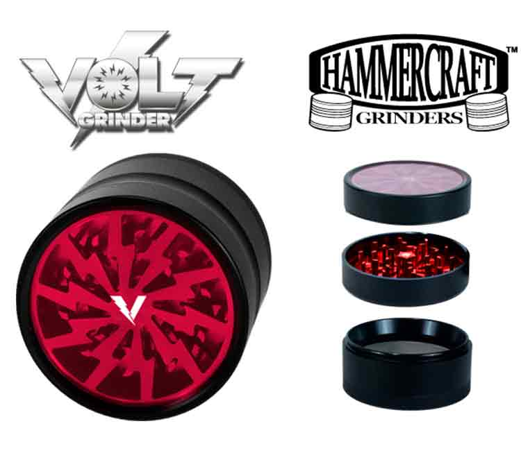 Hammer Craft Volt 4 Piece Grinder