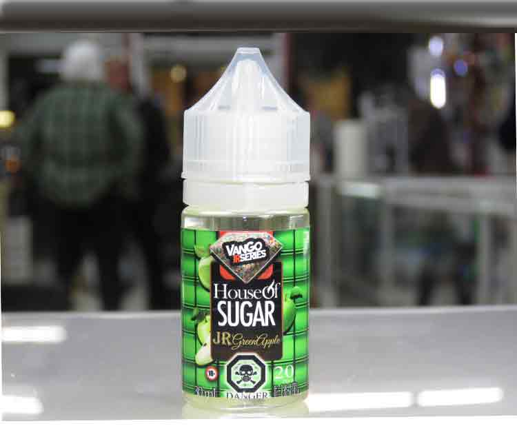 Jr Green Apple by Vango Vapes Nic Salt – 30ml