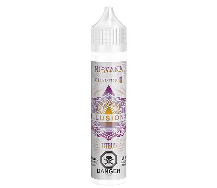 Nirvana by illusions Free Base  - 60ml