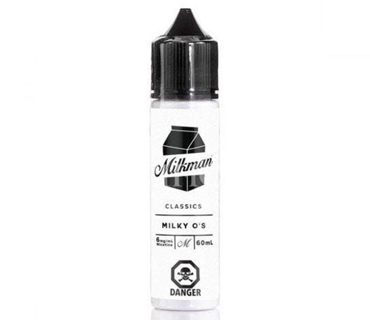 Milky O's by The Milk Man Free Base - 60ml