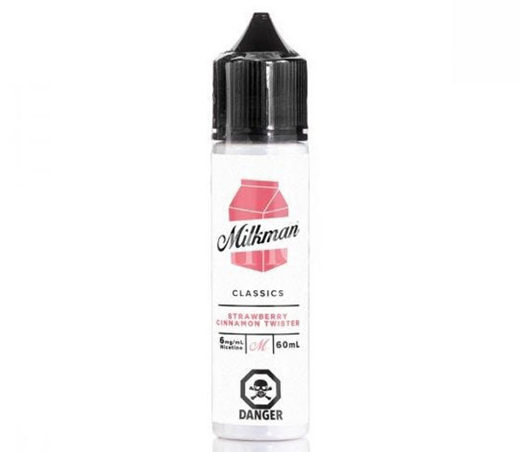 Strawberry Cinnamon Twister by The Milk Man Free Base - 60ml