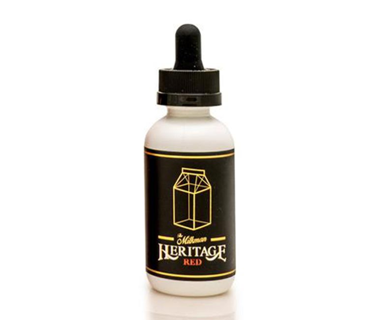Red by The Milk Man Heritage - Free Base - 60ml