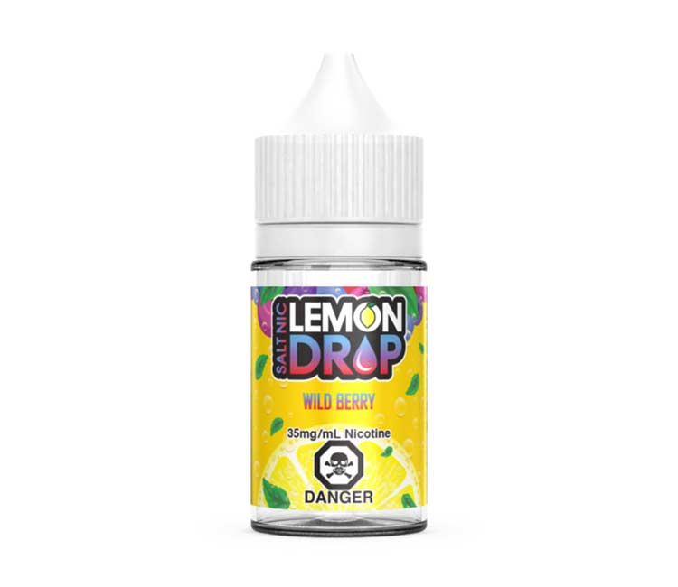 Wild Berry Nic Salt E-Liquid by Lemon Drop - 30ml