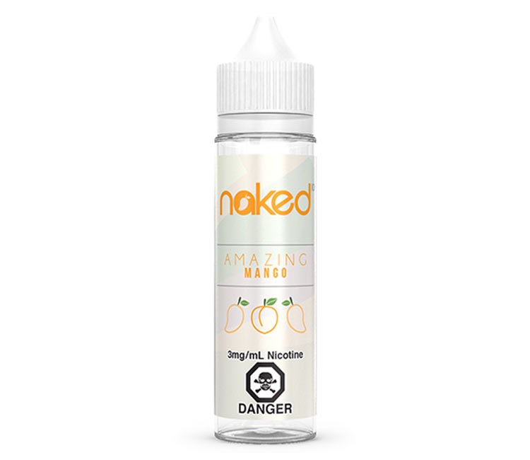 Amazing Mango Free Base E-Liquid by Naked 100 – 60ml