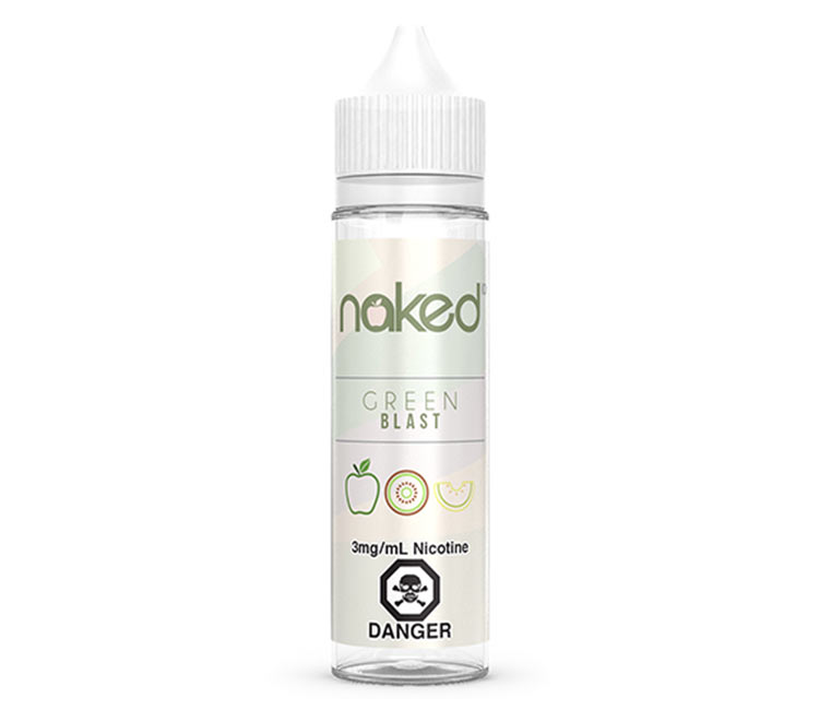 Green Blast Free Base E-Liquid by Naked 100 – 60ml
