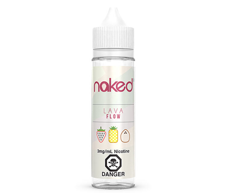 Lava Flow Free Base E-Liquid by Naked 100 – 60ml