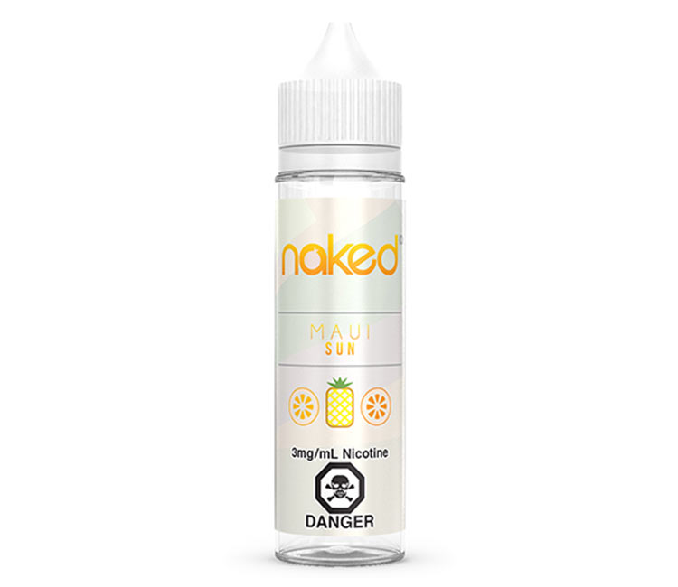 Maui Sun Free Base E-Liquid by Naked 100 – 60ml