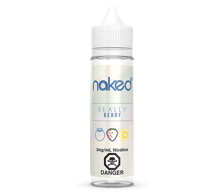 Really Berry Free Base E-Liquid by Naked 100 – 60ml