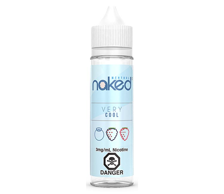 Very Cool Free Base E-Liquid by Naked 100 – 60ml