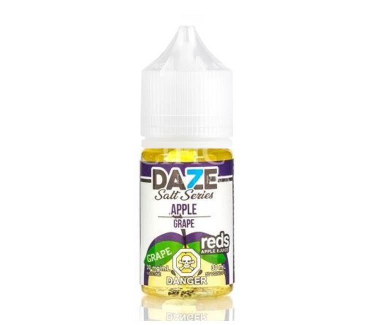 Grape - Apple Nic Salt E-Liquid by 7Daze - 30ml