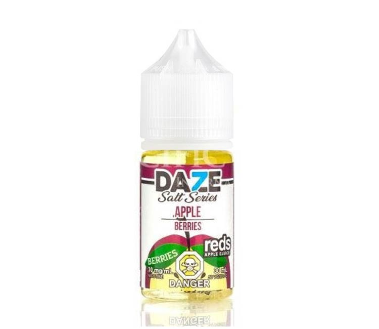 Berries - Apple Nic Salt E-Liquid by 7Daze - 30ml