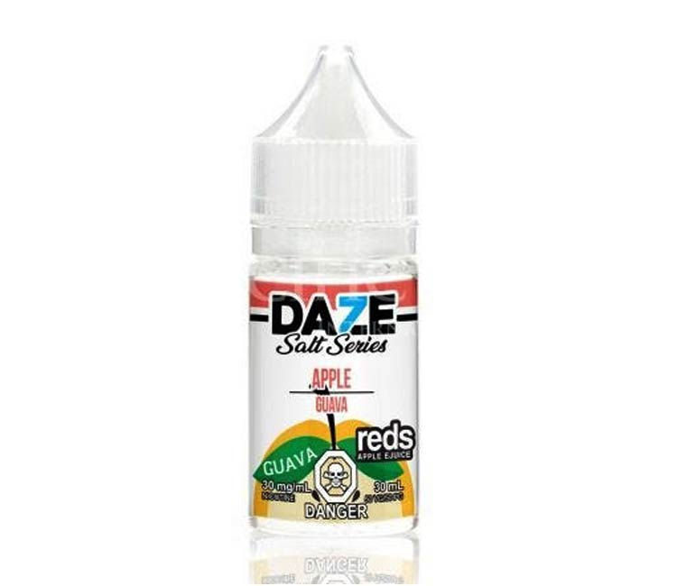 Guava - Apple Nic Salt E-Liquid by 7Daze - 30ml