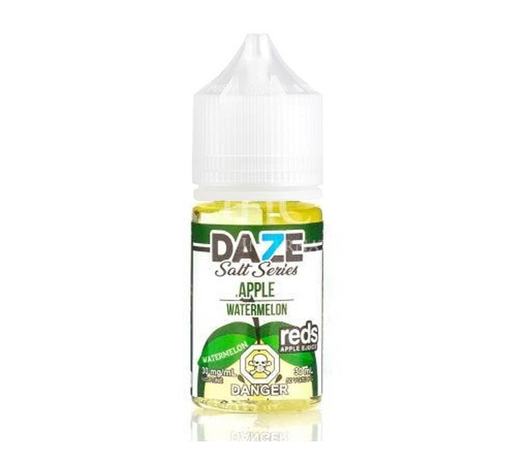 Watermelon - Apple Nic Salt E-Liquid by 7Daze - 30ml