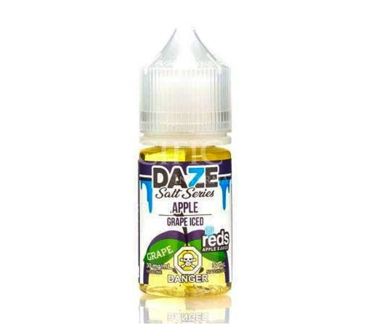 Grape - Apple Iced - Nic Salt E-Liquid by 7Daze - 30ml