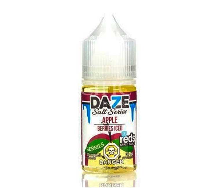 Berries - Apple Iced - Nic Salt E-Liquid by 7Daze - 30ml