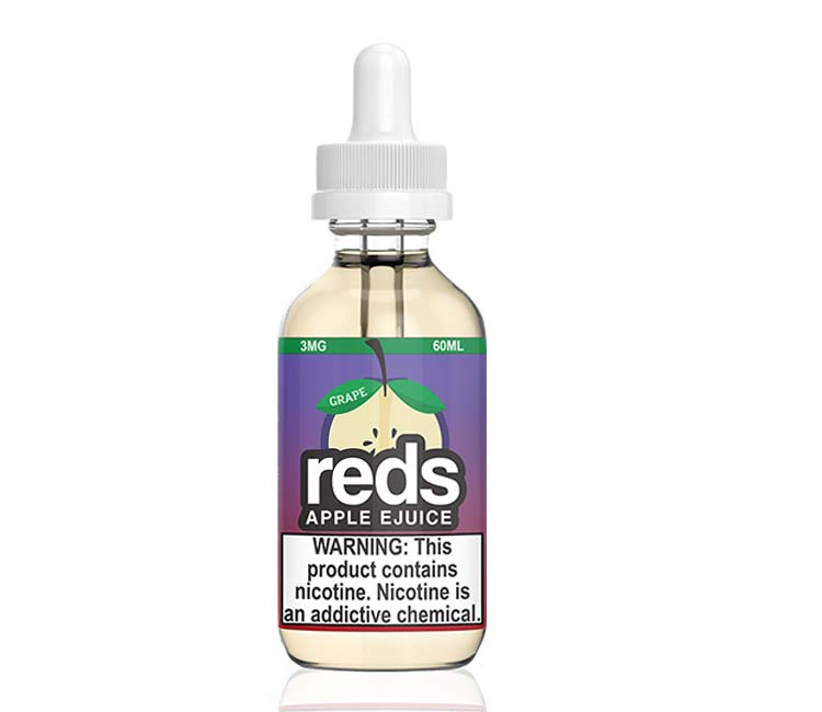 Reds Grape Apple Free Base E-Liquid by 7Daze - 60ml