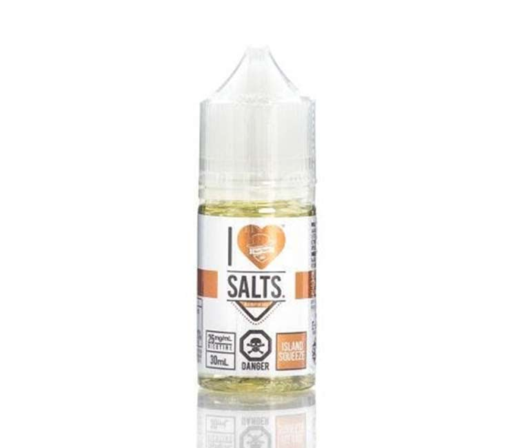 Island Squeeze Nic Salt E-Liquid by I Love Salts - 30ml