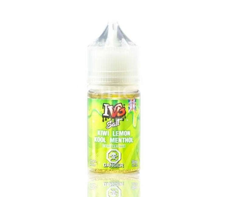 Kiwi Lemon Kool Menthol by IVG - 30ml Nic Salt E-Liquid