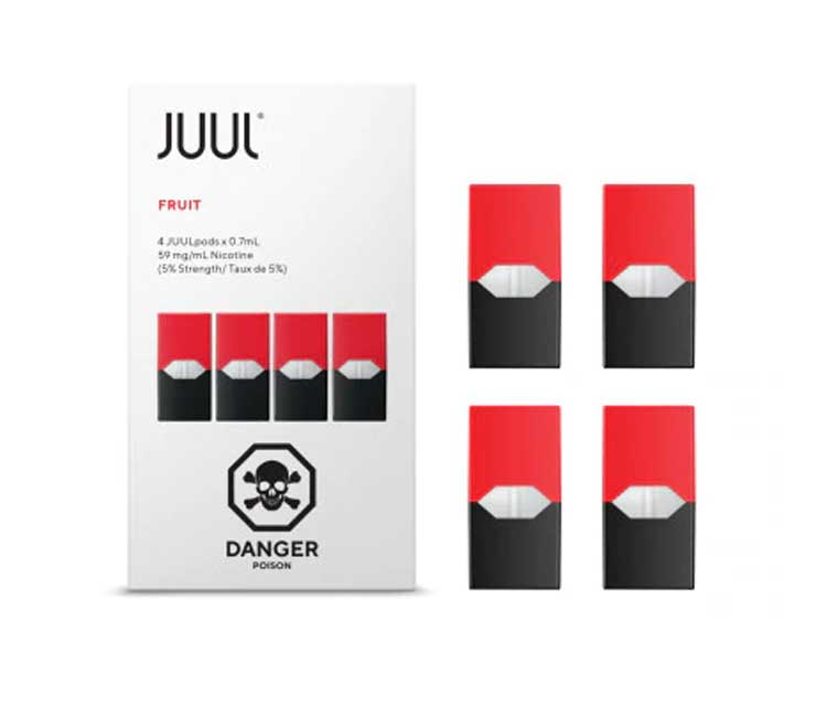JUUL Pod Fruit Flavor (Pack of 4 pods)