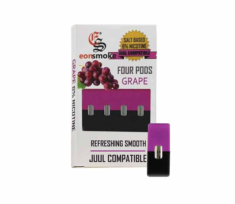 Eon Pod Grape Flavor - Nic Salt (JUUL Compatible)