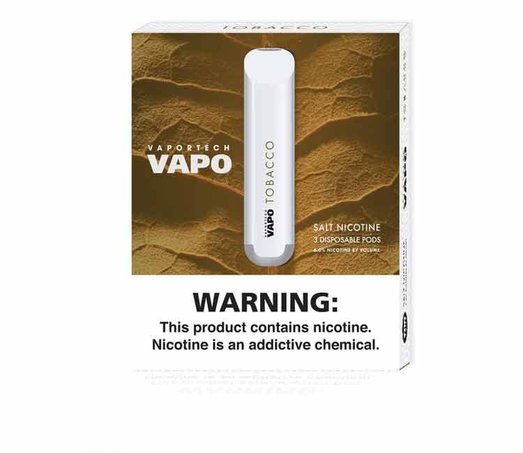 Tobacco - Vapo Disposable Vape Device