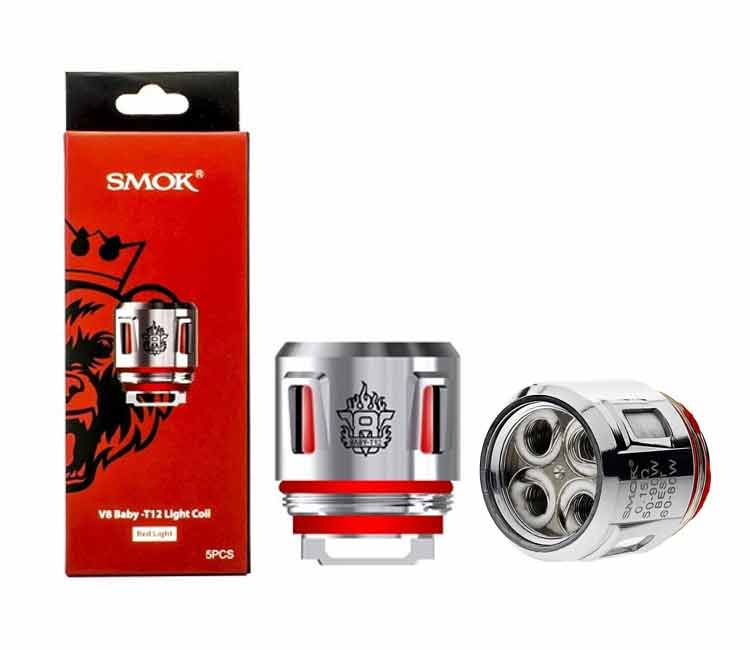 SMOK TFV12 Baby Prince V8-T12 Red Light Coil Head