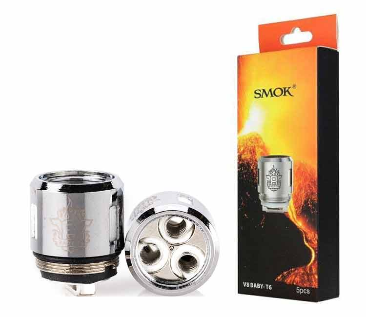 SMOK V8-Baby T6 Replacement Coil Head
