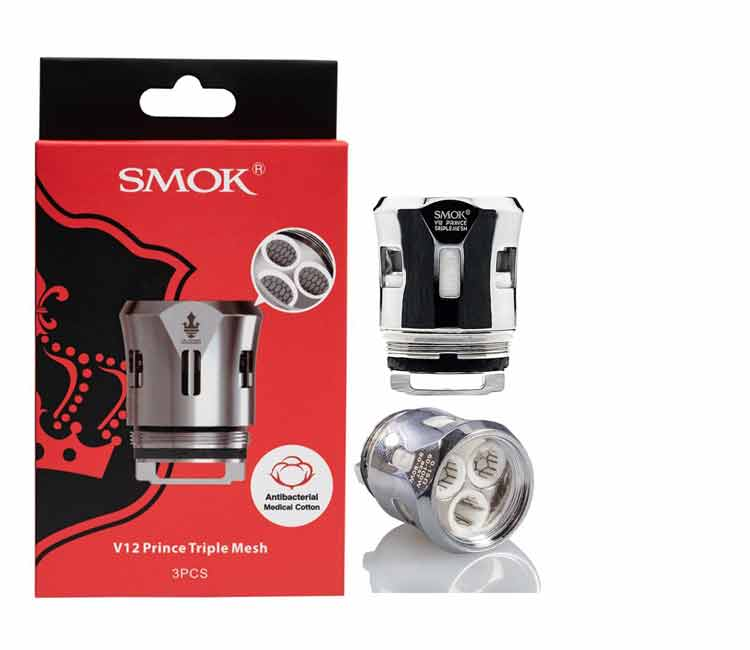 SMOK V12 Prince Triple Mesh Replacement Coil Head