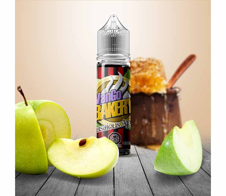 Luscious Apple (Apple Fritter)  by Vango Vapes Free Base – 60ml