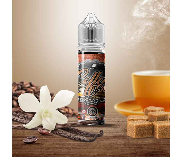 French Vanilla by Vango Vapes Free Base – 60ml