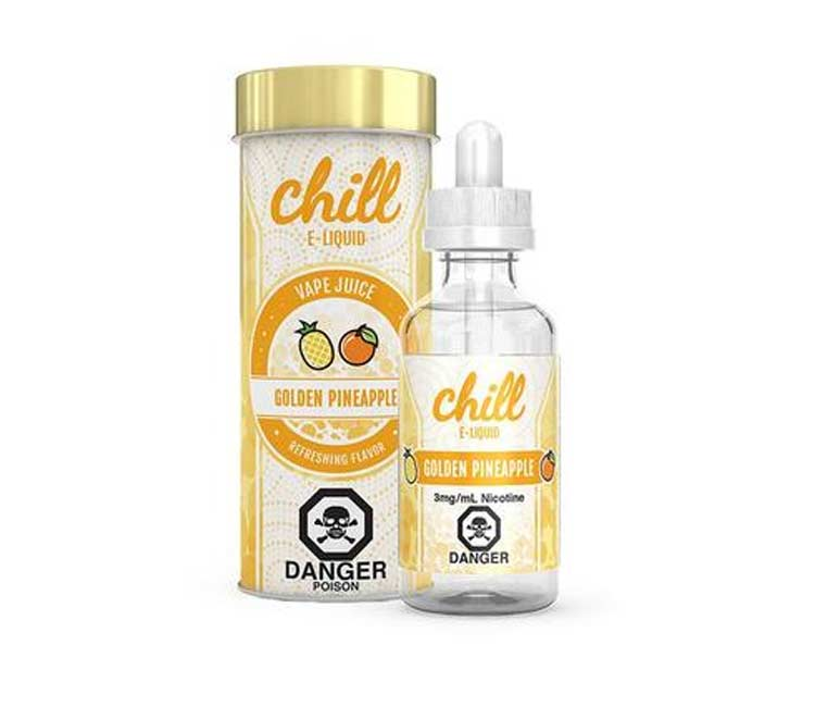 Golden Pineapple by Chill Free Base - 60ml