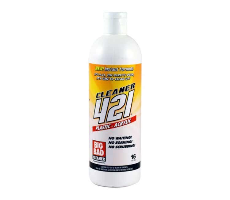 Big Dad 421 Cleaner For Acrylic and Plastic