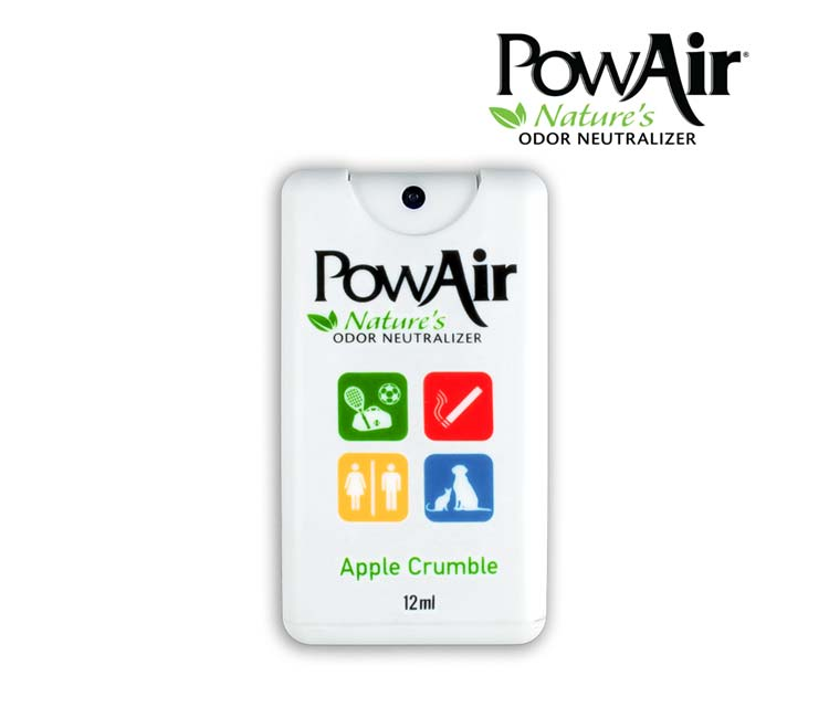 Pow Air Order Neutralizer 12ml Spray Card - Apple Crumble