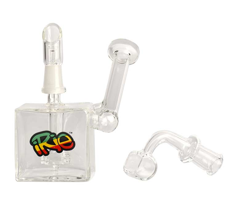 iRie3.5 inches Zeen Concentrate Bubbler with 10mm Joint