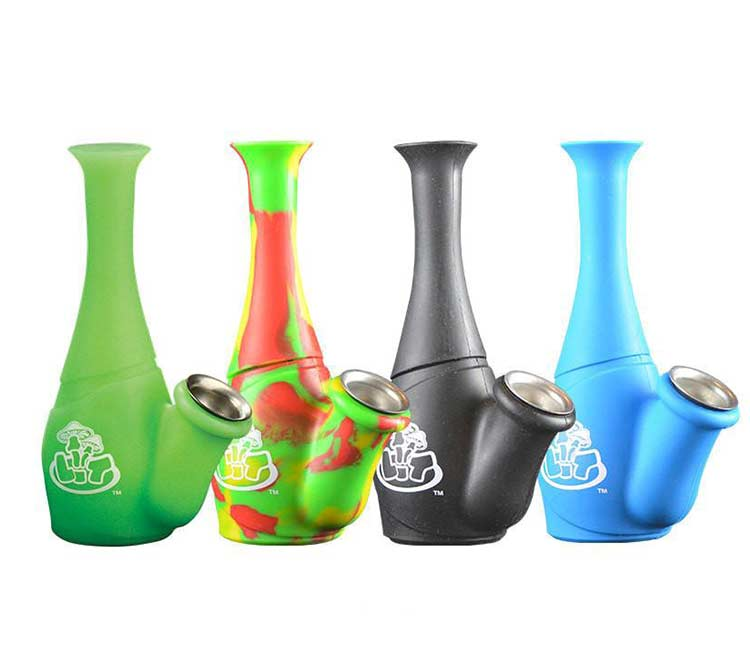 LIT Silicone 6 Inch Water Pipe