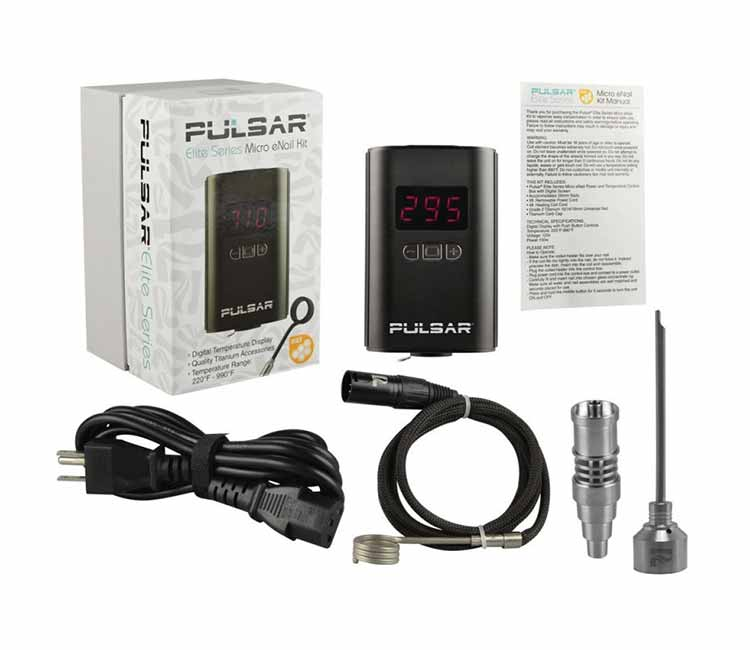 Pulsar Elite Series Micro eNail Kit
