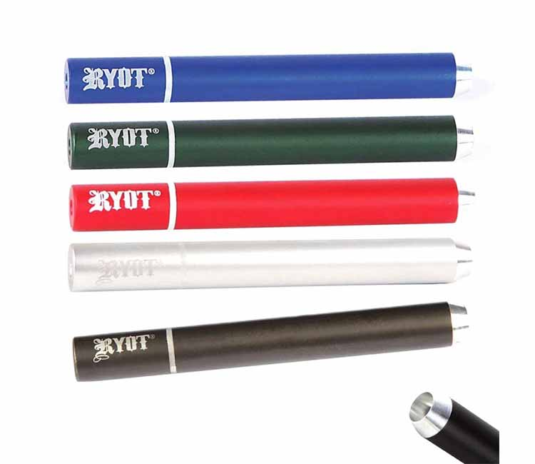 RYOT 9mm Slim Anodized Aluminum Taster Bat