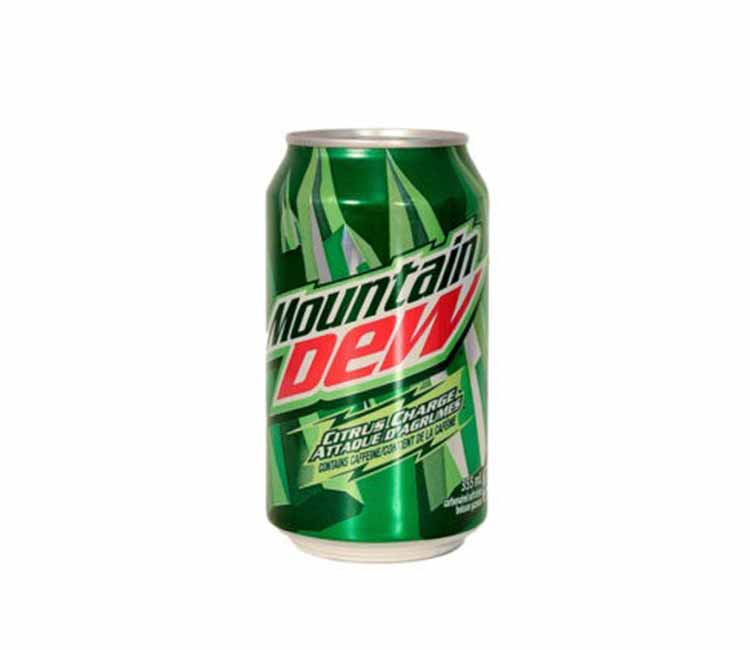 Mountain Dew Soda Can Diversion Safe Stash Can