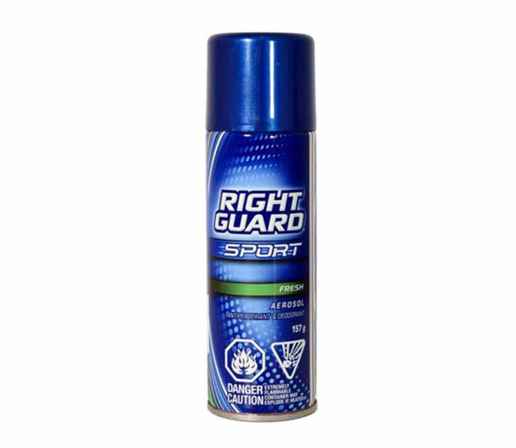 Right Guard Deodorant Spray Stash Can Diversion Safe