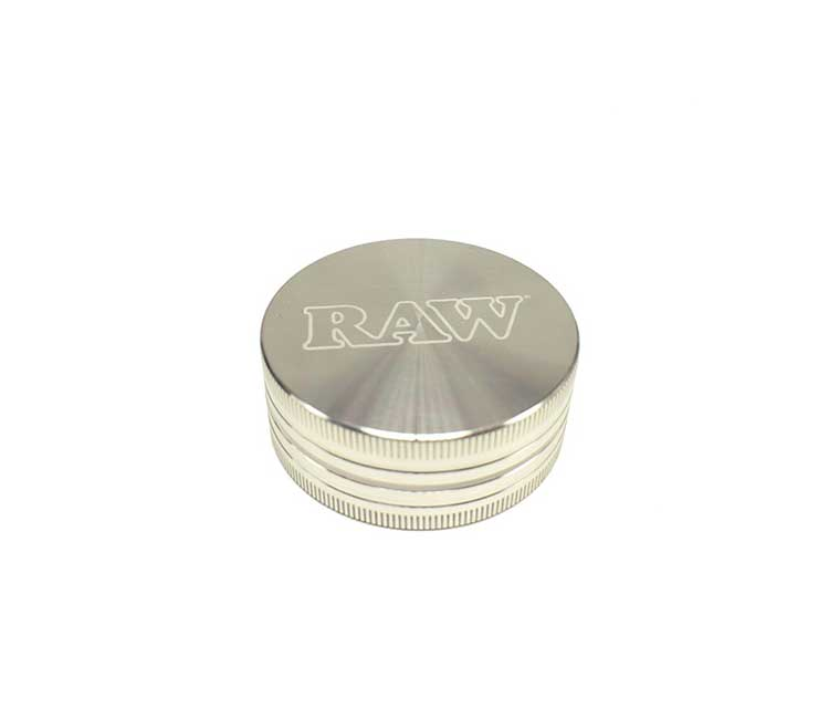 Raw 2-Pc Aluminum Grinder 2.5 Inch