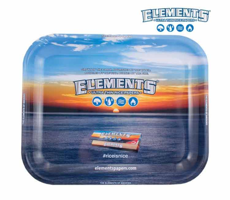Elements Metal Rolling Trays (Large / Small)