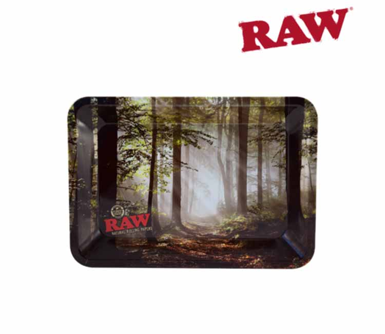 RAW Rolling Tray - Smokey Trees