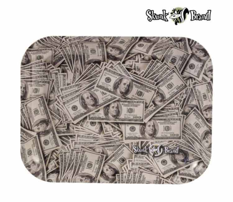 The Skunk Cash Rolling Tray