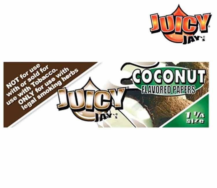 Juicy Jay's Coconut 1 ¼ Rolling Paper
