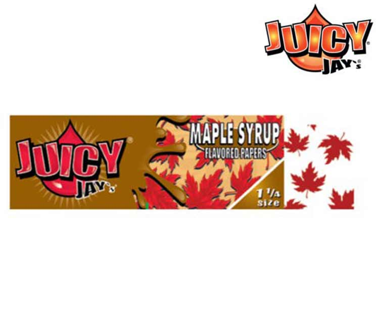 Juicy Jay's Maple Syrup 1 ¼ Rolling Paper