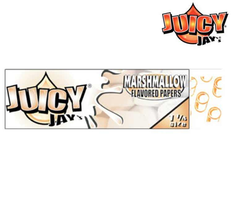 Juicy Jay's Marshmallow 1 ¼ Rolling Paper
