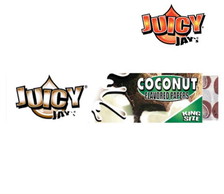 Juicy Jay's Coconut King Size Rolling Paper