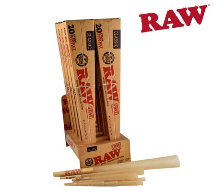 20 Stage RAWKET Launcher (Raw Classic Rawket Cones)