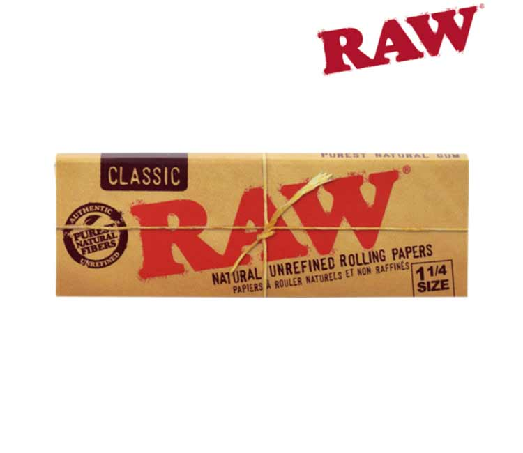 RAW Classic 1¼  - Natural Unrefined Rolling Papers
